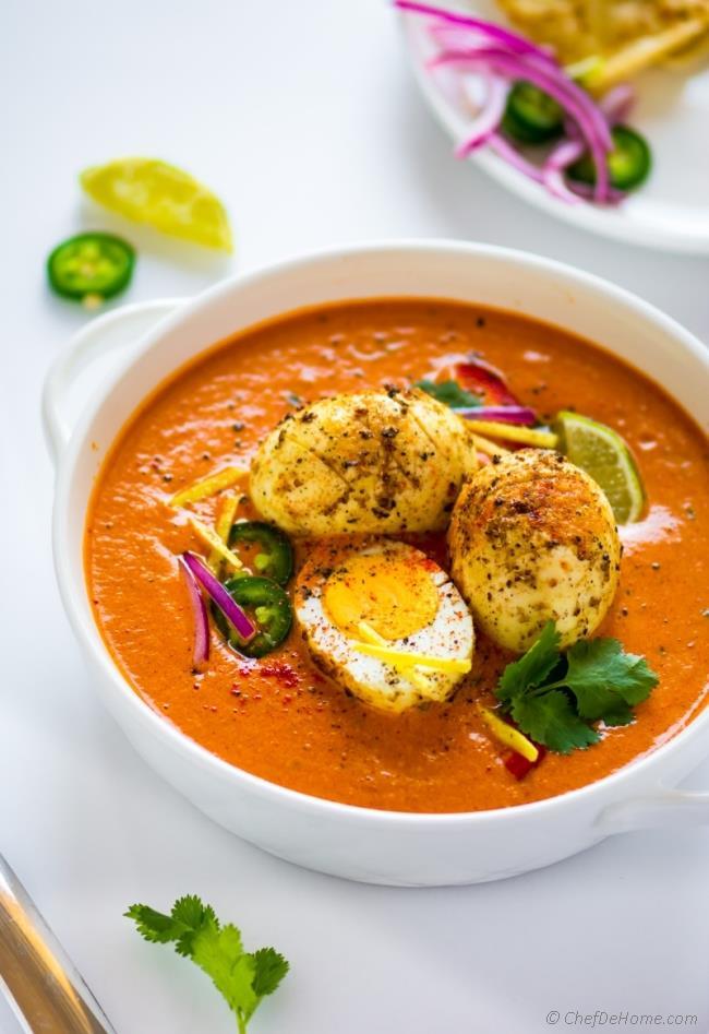 Egg Masala / Ande Ka Salan Image