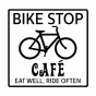bikestopcafe Home Logo