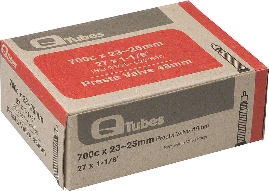 700c x 23-25mm 48mm Presta Valve Tube 126g Image