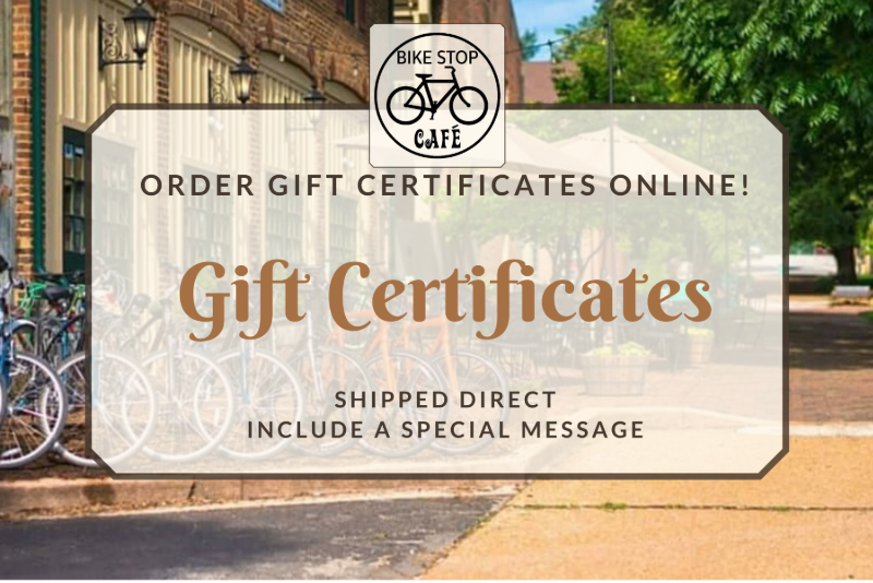 $10 gift certificate (mailed)