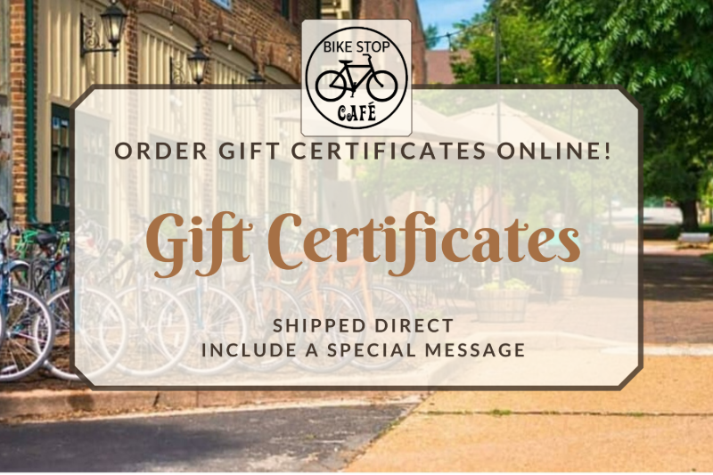 $20 Gift Certificate (mailed)