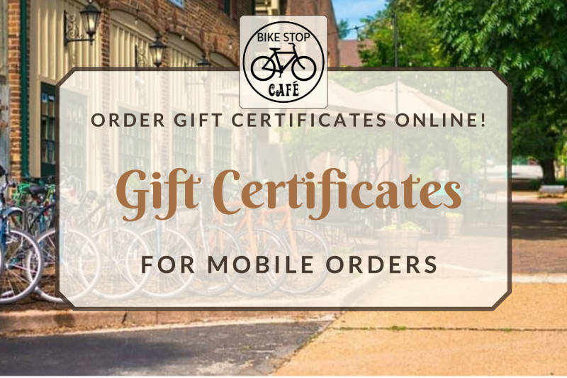 $10 Mobile Ordering Gift Certificate Image