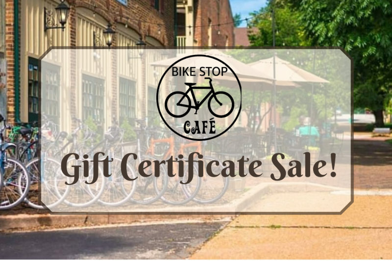 $25 gift Certificate SALE Image