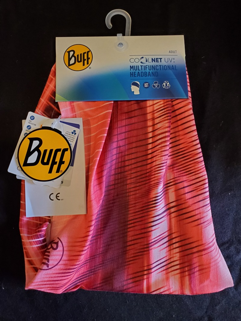 Buff Face Wrap (Pink/Red) Image