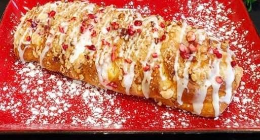 Apple Cinnamon Strudel Loaf Image