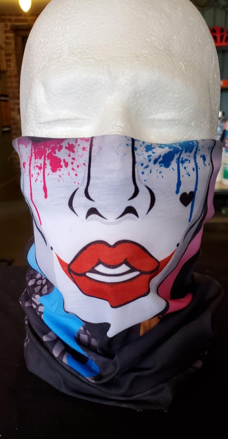 Face Wrap Harley Quinn Image