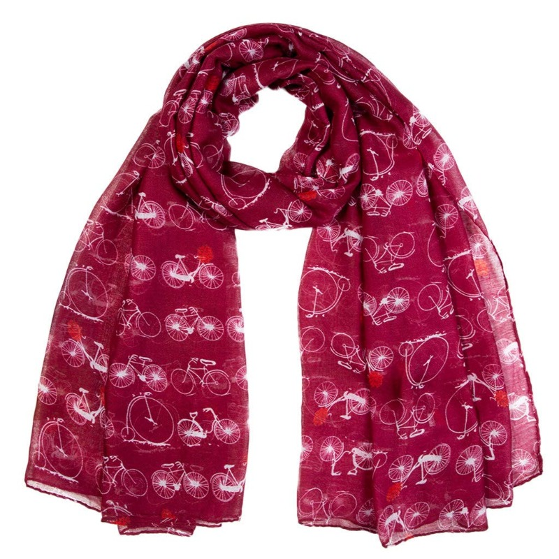 Bicycle Scarf Image