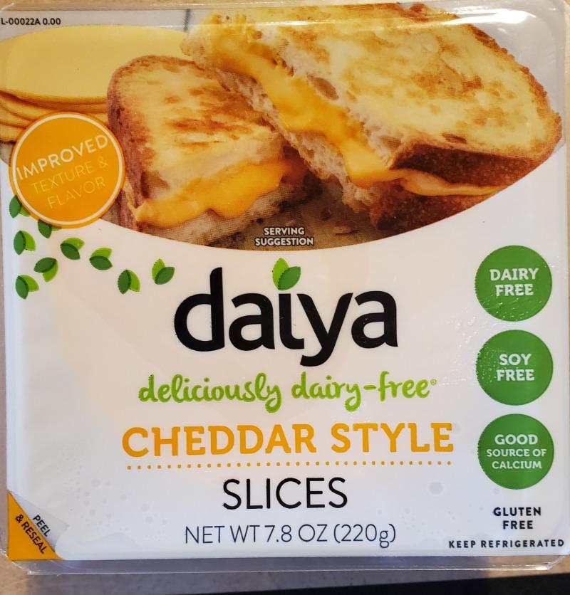 Daiya Cheddar Style Slices Image