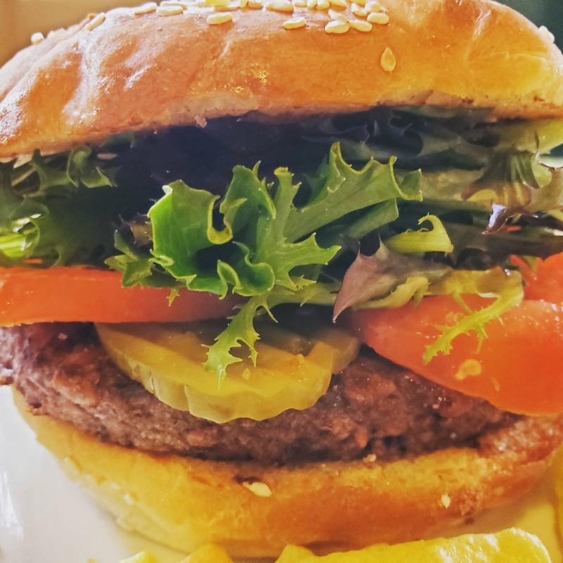 Hungry Planet Vegan Burger Image