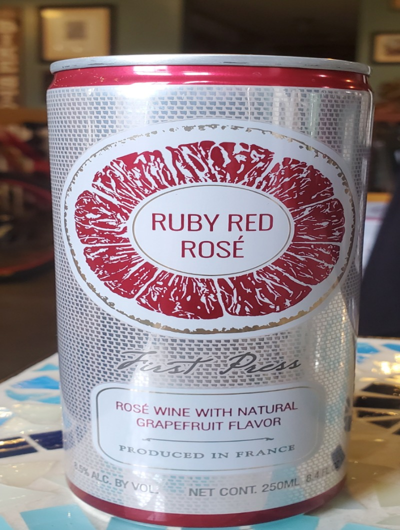 Ruby Red Wine Can Image