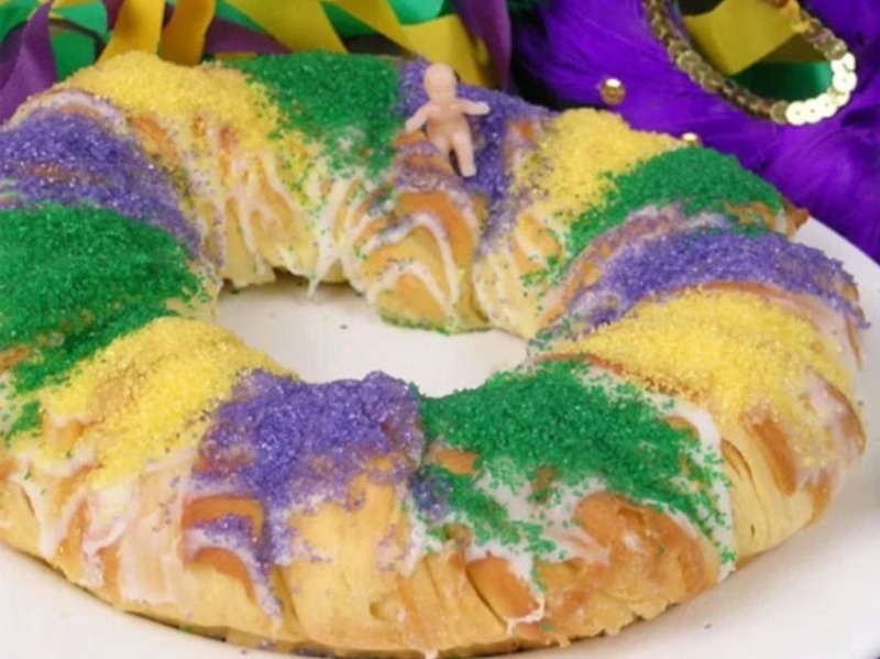 KING CAKE- Fat Tuesday