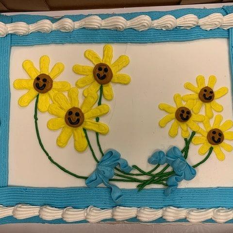 1/2 Sheet Cake Image