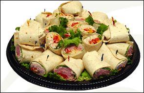 Party Wrap Platter - Regular (16 half wraps) Image