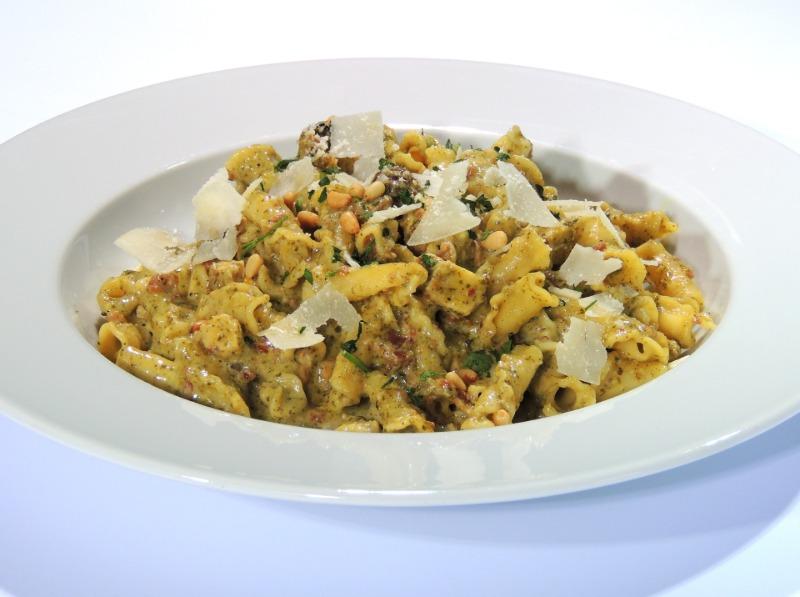 Basil Chicken Pesto Pasta Image