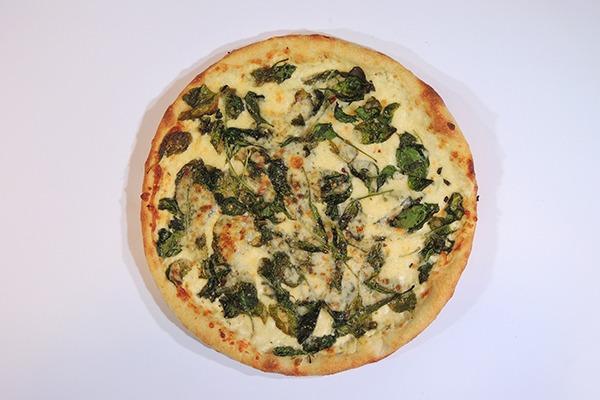 Classic White Pizza Image