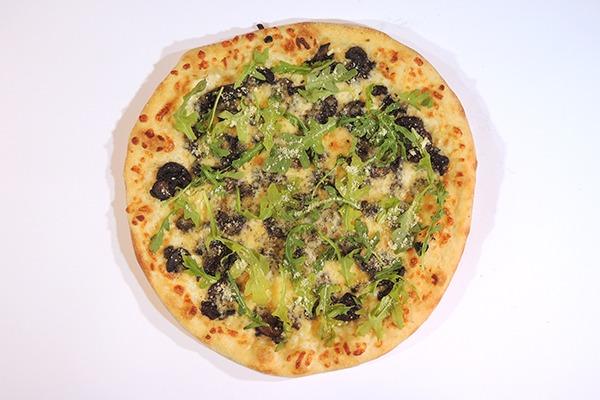 Wild Mushroom Pizza Image
