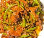 Shredded Beef w. Hot Green Pepper