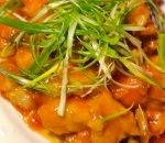 Eggplant w. Fish Fillet Image