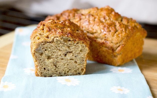 Mini Banana-Nut Bread Image