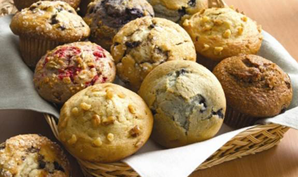 Our Famous Homemade Bakery Muffins - Each