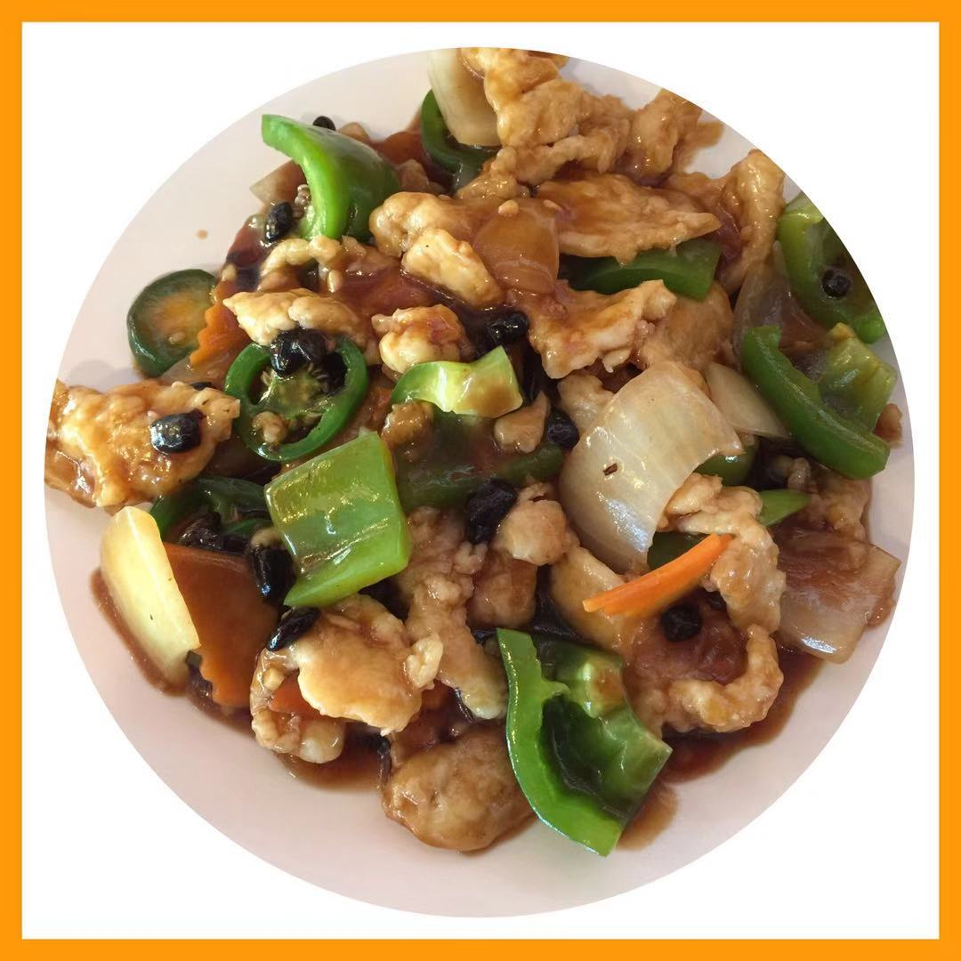 40. Chicken in Black Bean Sauce