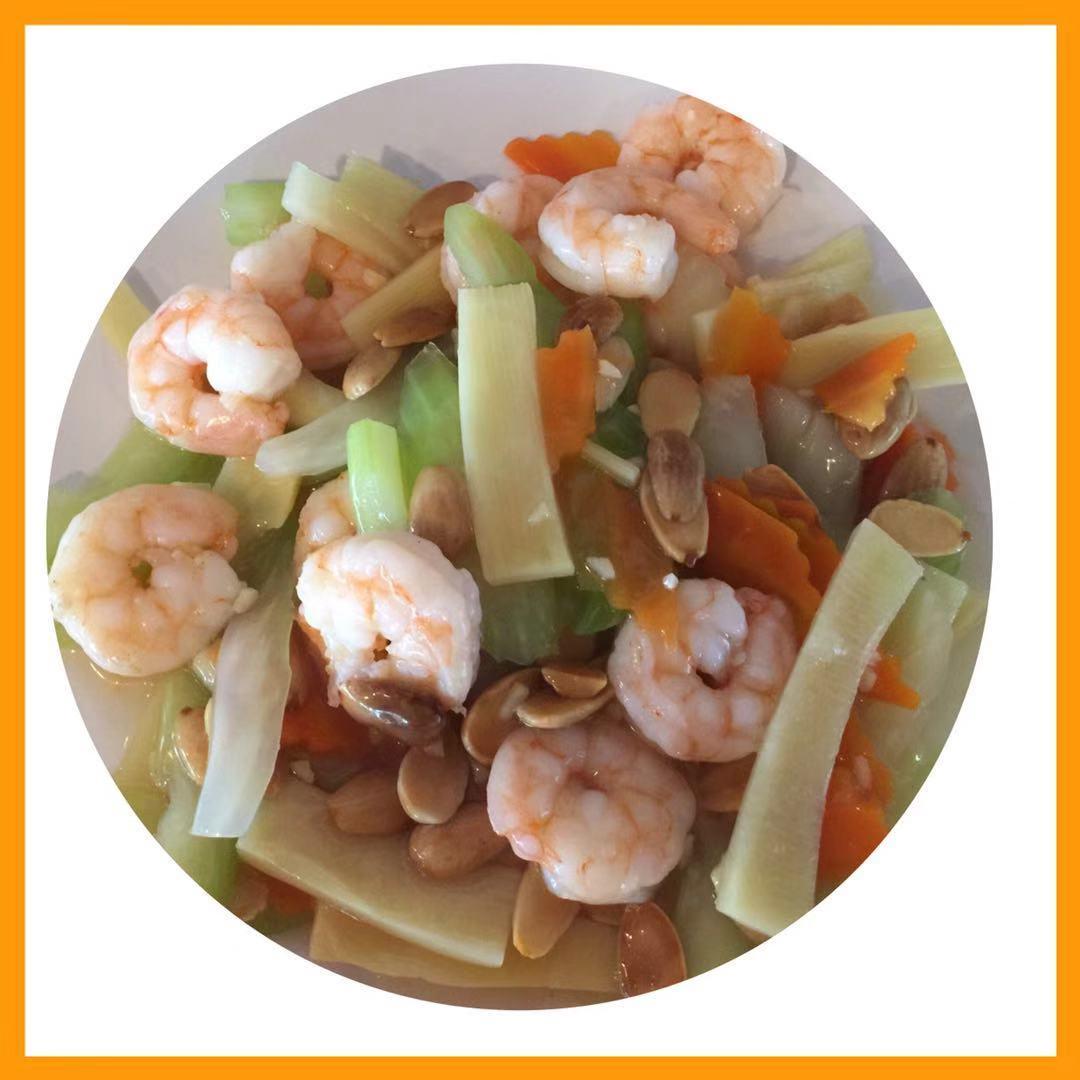 63. Almond Shrimp