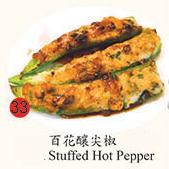 33. Stuffed Hot Pepper