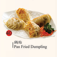 40. Pan Fried Dumpling