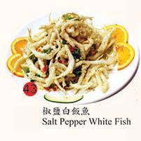 43. Salt Pepper White Fish