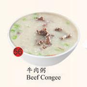 56. Beef Congee