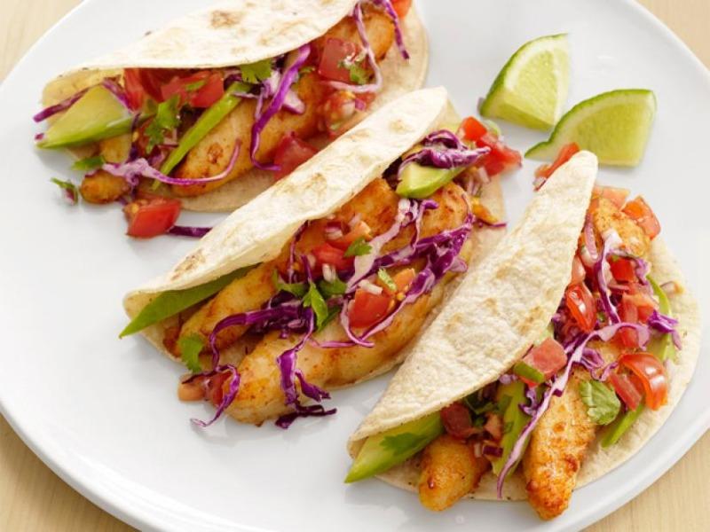 Baja Shrimp Taco Image