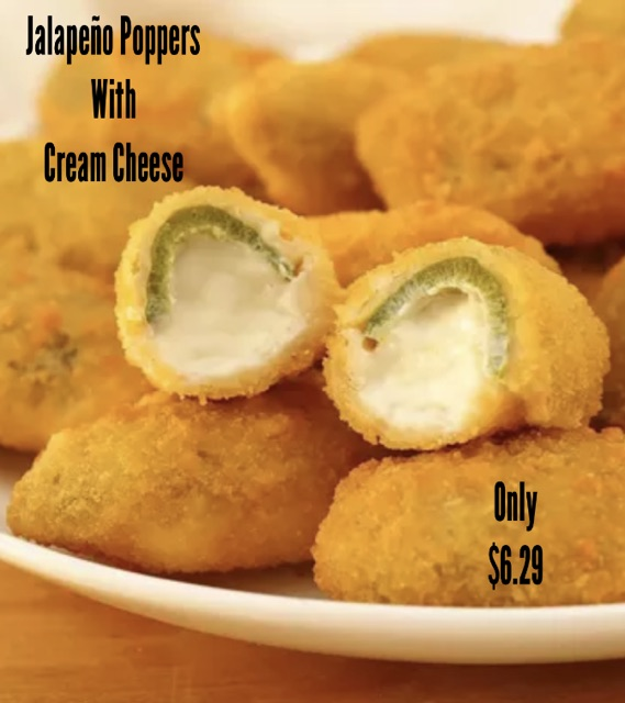 Jalapeno Poppers w/ Cream Cheese