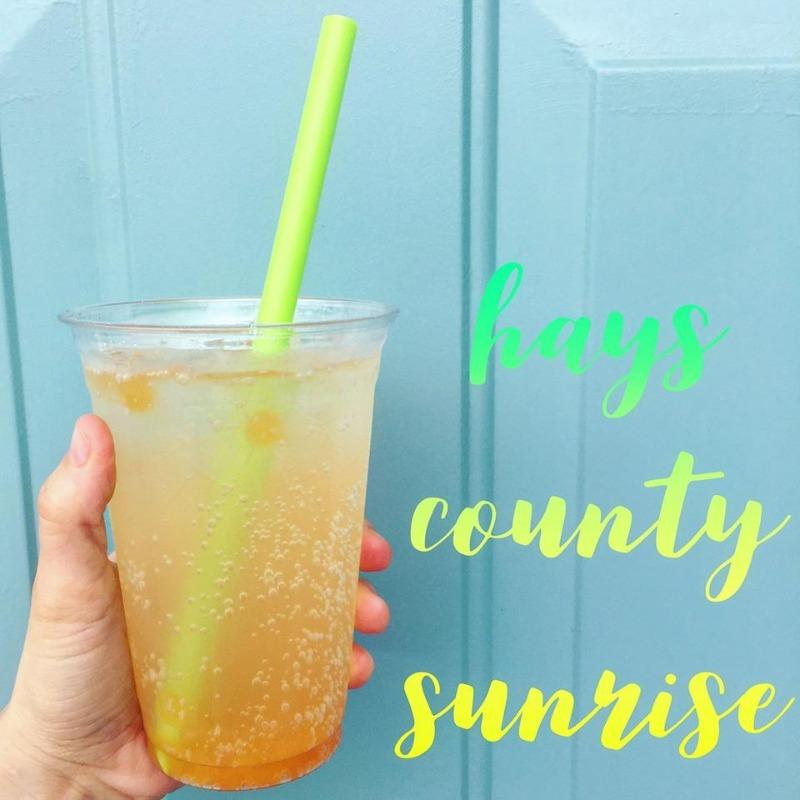 Hays County Sunrise Boba Box Image