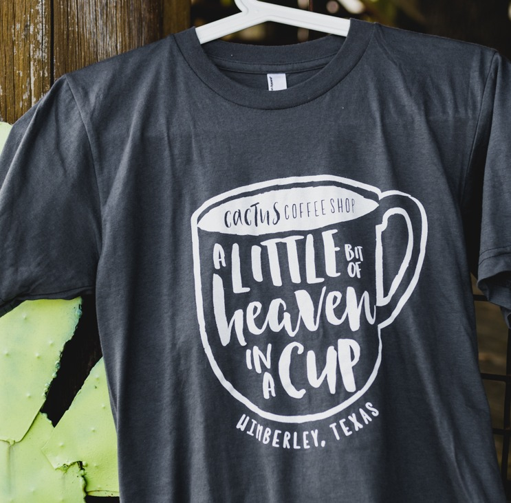 Cactus Coffee Shop Shirt Image