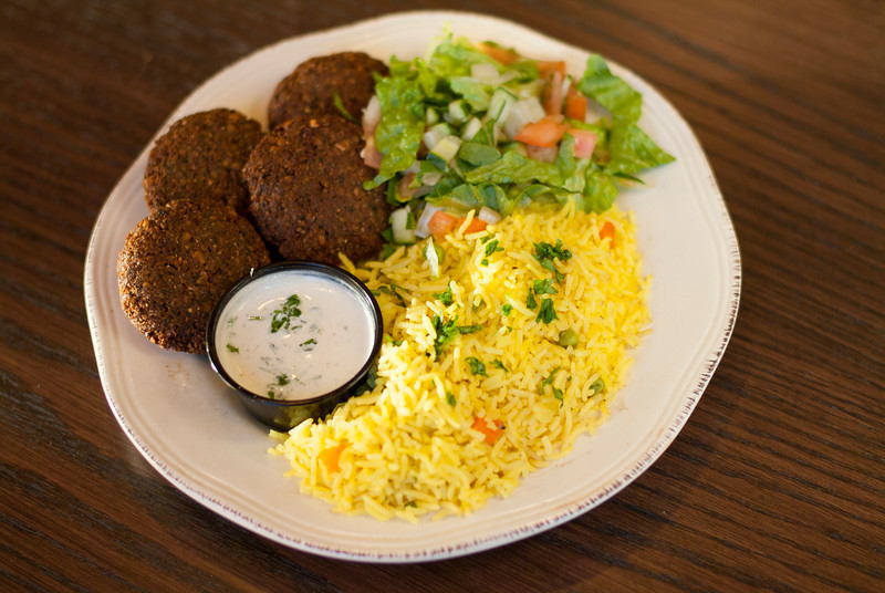 FALAFAL ON RICE Image