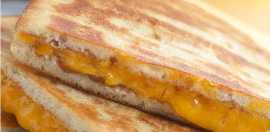 Kids Grilled Cheese W/Fries Image