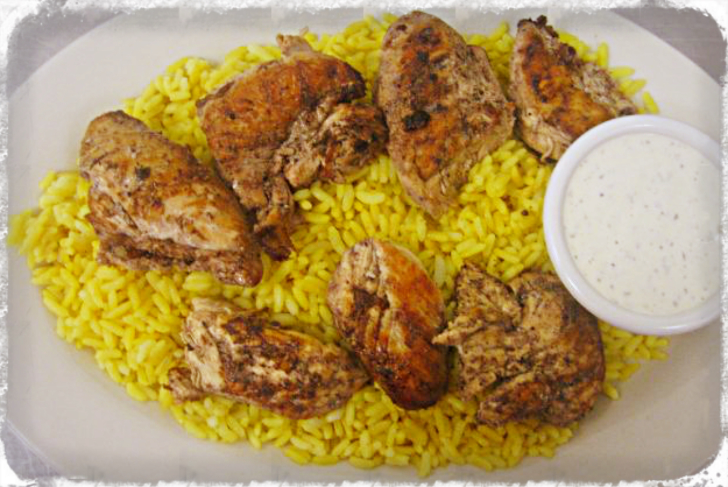 GRILLED CHICKEN ON RICE Image