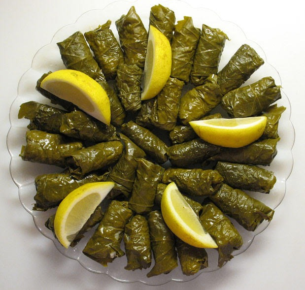 Stuffed Grape Leaves Image
