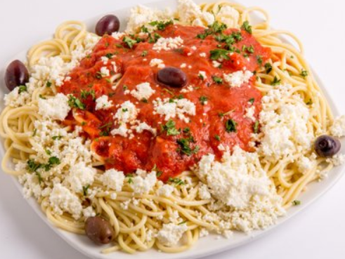 Traditional Feta Pasta Image