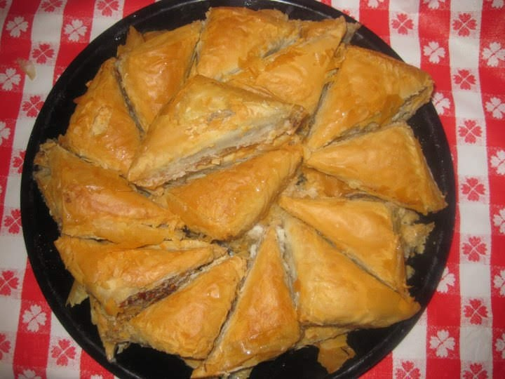 Traditional Greek Baklava Image