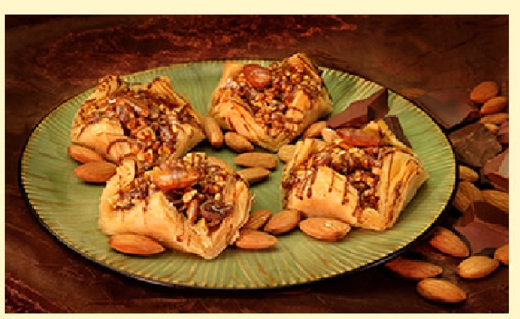 ALMOND CHOCOLATE BAKLAVA