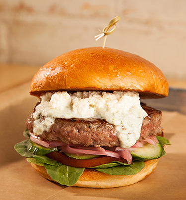GREEK FETA BURGER Image