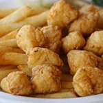 Fried Gulf Scallops Image