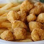 Fried Gulf Scallops Image