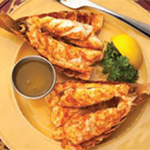 Oven Broiled South African Lobster Tails Image