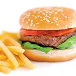 Quarter Pound Hamburger Image