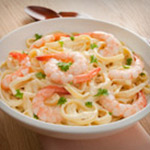 Child Fettuccini with Shrimp or Chicken Image