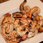 Oven Broiled Jumbo Gulf Shrimp