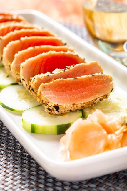 Sesame Crusted Ahi Tuna Image