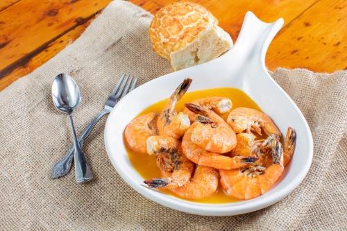 """Capt. Anderson's """"Famous"""" Grilled Bay Shrimp Dinner Image"""
